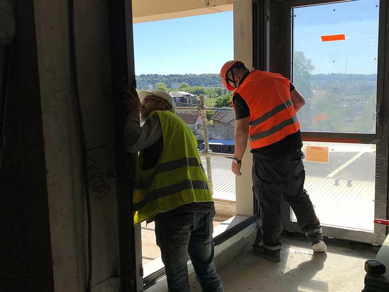 rénovation menuiseries extérieures paris